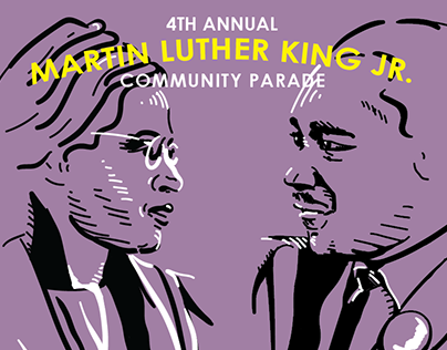 4th Annual MLK Parade Poster