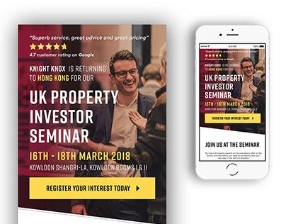 Email campaign - Knight Knox Hong Kong Seminar 2018