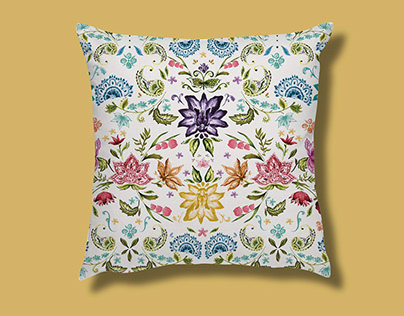 Textile Design for Cushions