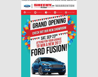 Sheehy Ford of Warrenton Grand Opening