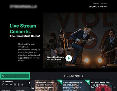 Music Life Streaming Platform UX