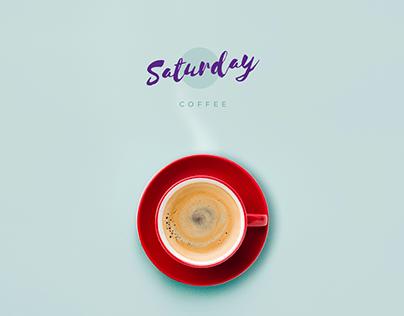 Saturday Coffee - Website Design