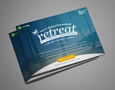 Productive Muslim Retreat Brochure