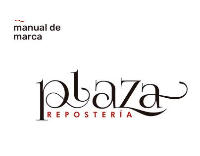 PLAZA | Manual de marca