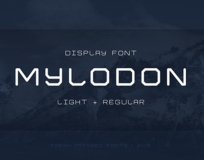 Mylodon Font (Free Weight)