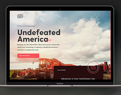 Undefeated America – Google Project