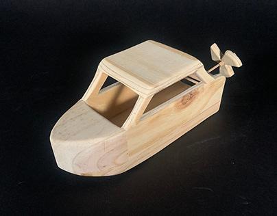 ID Practice: Wood Toy