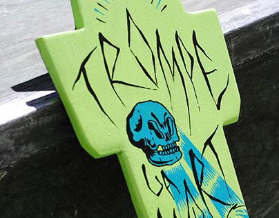 Trompe la mort - Skateboard x Atelier SLC