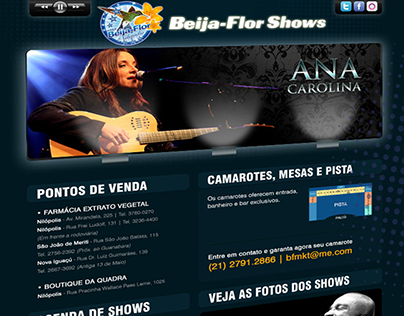 Web Site Beija Flor