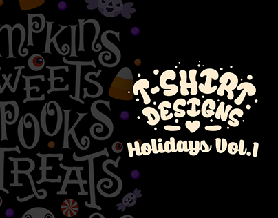 T-Shirt Designs: Holidays Collection