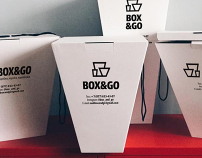 Indentity for Box&Go – producer of florist's packaging