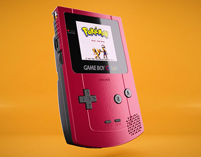 Game Boy Color [3D Animation]