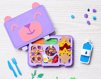 Lunch Box | Paper art