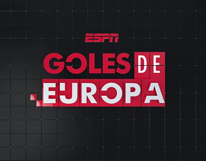 ESPN Goles de Europa