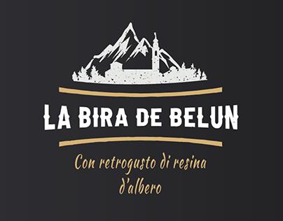 """Brand identity della birra artigianale """"Bira de Belun"""""""