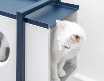 CAT IS ART : Modern cat furniture