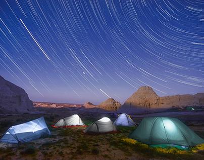 Project: Kazakhstan. Starry nights.