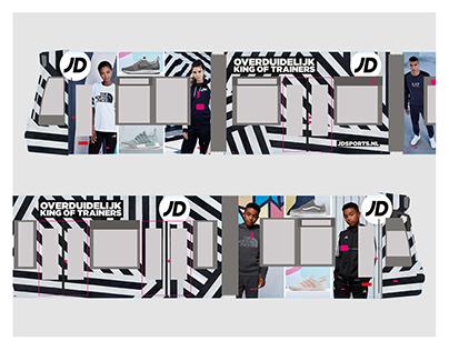 JD Sports | Tram Wrap & Window Design