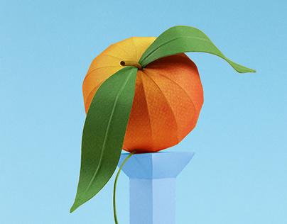 Paper peach