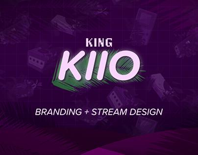 King Kiio Branding+Stream Design