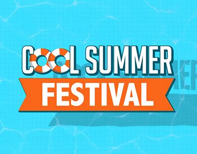Cool summer festival / Bridge