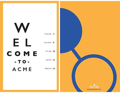 Branding: Acme Eyewear