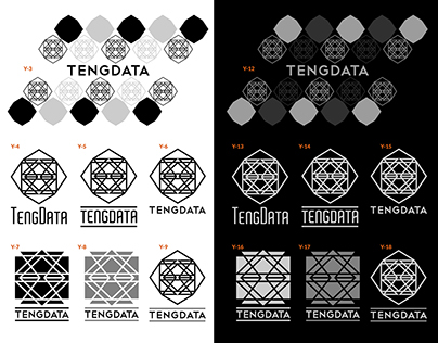 [Logo] - Batch of TENGDATA logo designs