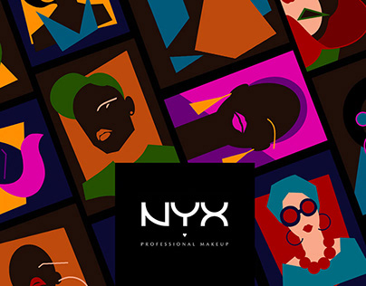 Be yourself with NYX. Packaging design