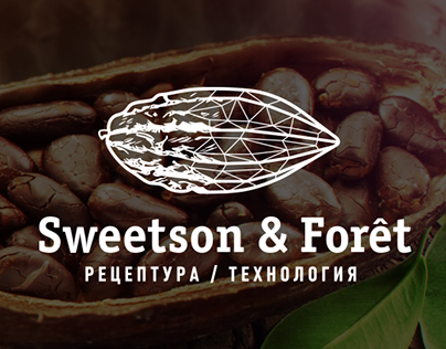 Sweetson & Forêt logotype and brand development