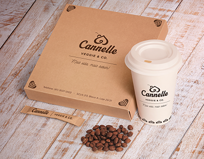 Cardápio e IdV - Cannelle