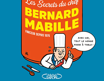 Les Secrets du chef [COUVERTURE LIVRE - ILLUSTRATIONS]