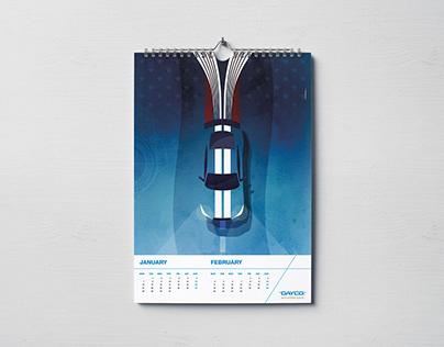 Dayco - Illustration Calendar 2019