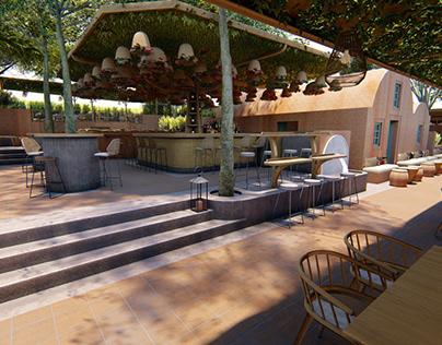 Santorini cafe bar restaurant
