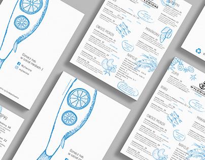 wyłowione / menu & design