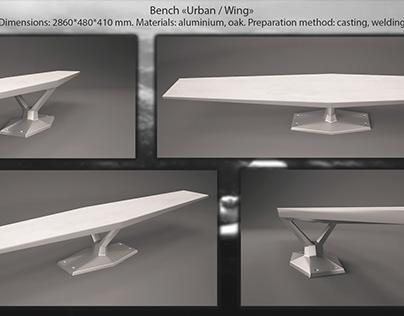 Bench Urban   Wing