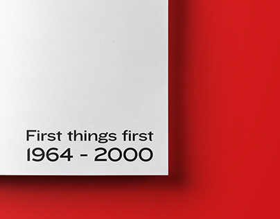 First things first manifesto