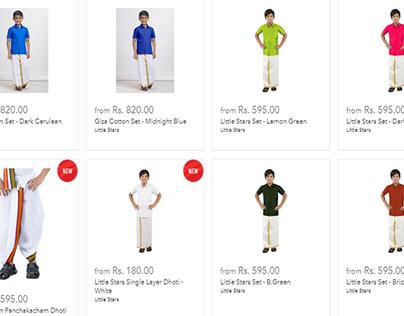 Buy Boys Dhoti Kurta Online