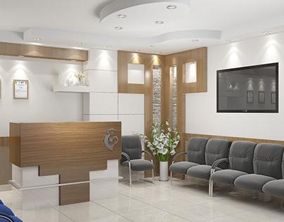 Interior design for a gynecology clinic