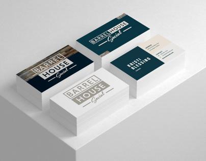 Barrel House Business Cards