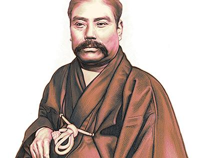Y. Iwasaki's portrait for DIAMOND Q. Japan