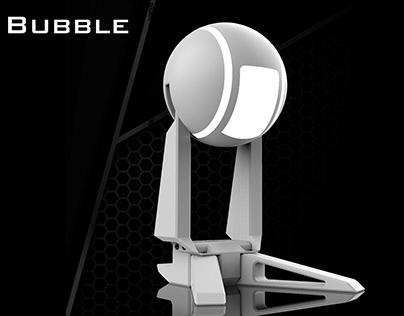 Lampara de escritorio Bubble , inspirada en Oblivion.