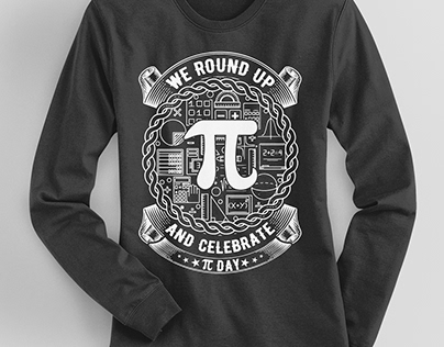 Pi Day T-Shirt Design Bundle -1