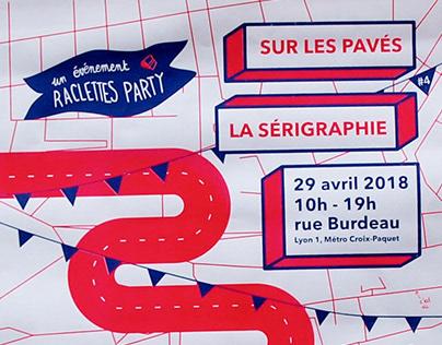 SUR LES PAVÉS LA SÉRIGRAPHIE - Raclettes party