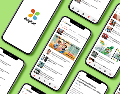 Dailyhunt   News & Media App Development Case Study