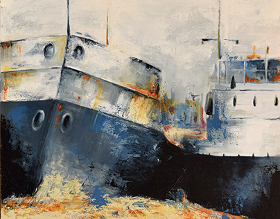 Cuadros tema Barcos