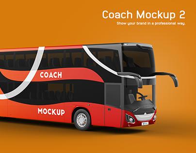 Mercedes MCV Coach Mockup