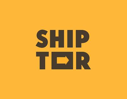 Логотип и фирменный стиль «Shiptor»