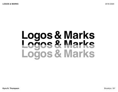 Logos & Marks 2018-2020
