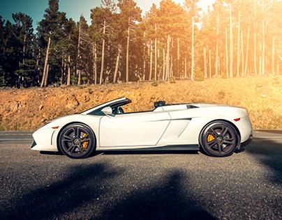Lamborghini Gallardo Side Shot