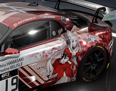 Alpine A110 GT4 Habsburg Idol Racing x Marie Antoinette